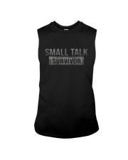 SMALL TALK SURVIVOR Sleeveless Tee thumbnail