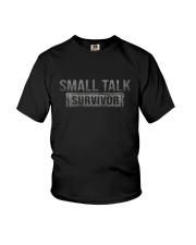 SMALL TALK SURVIVOR Youth T-Shirt thumbnail