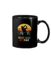 BEST DAD BY PAR GOLF Mug thumbnail