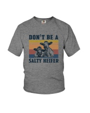 DON'T BE A SALTY HEIFER Youth T-Shirt thumbnail