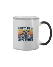 DON'T BE A SALTY HEIFER Color Changing Mug thumbnail