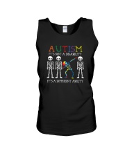 IT'S NOT A DISABILITY IT'S A DIFFERENT ABILITY Unisex Tank thumbnail