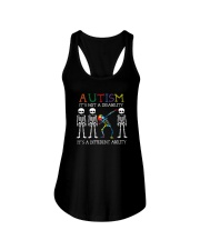 IT'S NOT A DISABILITY IT'S A DIFFERENT ABILITY Ladies Flowy Tank thumbnail