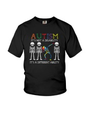 IT'S NOT A DISABILITY IT'S A DIFFERENT ABILITY Youth T-Shirt thumbnail
