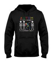 IT'S NOT A DISABILITY IT'S A DIFFERENT ABILITY Hooded Sweatshirt thumbnail