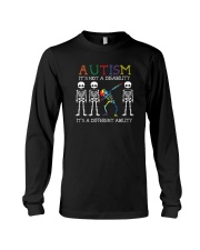 IT'S NOT A DISABILITY IT'S A DIFFERENT ABILITY Long Sleeve Tee thumbnail
