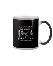 IT'S NOT A DISABILITY IT'S A DIFFERENT ABILITY Color Changing Mug thumbnail