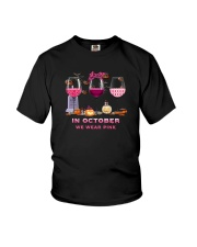 IN OCTOBER WE WEAR PINK Youth T-Shirt thumbnail