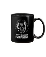 SKULL CAN'T HEAR YOU I'M GAMING Mug thumbnail