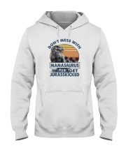 DON'T MESS WITH MAMASAAURUS Hooded Sweatshirt tile