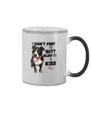 I DIDN'T FART MY BUTT BLEW YOU A KISS PITBULL Color Changing Mug thumbnail