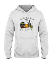 THIS WITCH NEEDS BOURBON Hooded Sweatshirt thumbnail