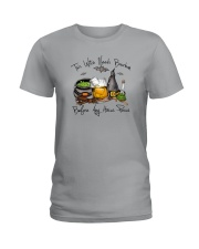 THIS WITCH NEEDS BOURBON Ladies T-Shirt thumbnail