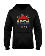 I'D SMOKE THAT BARBECUE Hooded Sweatshirt thumbnail