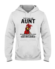 THEY CALL ME AUNT BAD INFLUENCE Hooded Sweatshirt thumbnail