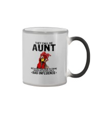 THEY CALL ME AUNT BAD INFLUENCE Color Changing Mug thumbnail