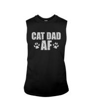 CAT DAD AF Sleeveless Tee thumbnail