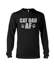 CAT DAD AF Long Sleeve Tee thumbnail