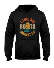 I LIKE BIG BOAT AND I CANNOT LIE Hooded Sweatshirt thumbnail