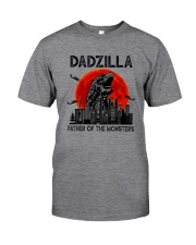 FATHER OF THE MONSTERS DADZILLA Classic T-Shirt front