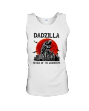 FATHER OF THE MONSTERS DADZILLA Unisex Tank thumbnail