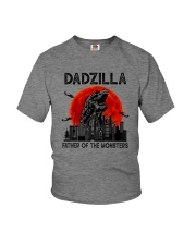 FATHER OF THE MONSTERS DADZILLA Youth T-Shirt thumbnail