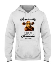 APPARENTLY I HAVE AN ATTIUDE WHO KNEW Hooded Sweatshirt tile