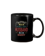 BLESSED TO BE CALLED HUSBAND AND DADDY VT Mug tile