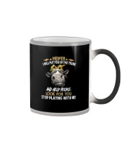 HEIFER PUT YOU IN THE TRUNK  Color Changing Mug thumbnail