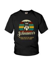 official dog schnauzer Youth T-Shirt thumbnail