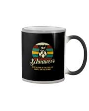 official dog schnauzer Color Changing Mug thumbnail