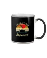 I RUN A TIGHT SHIPWRECK VINATAGE Color Changing Mug thumbnail