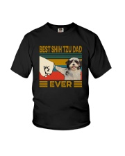 BEST Shih tzu DAD EVER Youth T-Shirt thumbnail