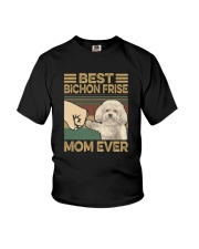 BEST Bichon Frise MOM EVER s Youth T-Shirt thumbnail
