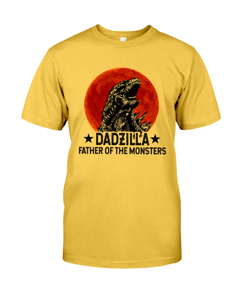 DADZILLA KING OF THE MONSTERS Classic T-Shirt