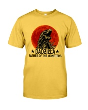 DADZILLA KING OF THE MONSTERS Classic T-Shirt front