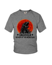 DADZILLA KING OF THE MONSTERS Youth T-Shirt thumbnail