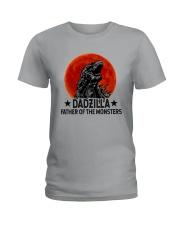 DADZILLA KING OF THE MONSTERS Ladies T-Shirt thumbnail