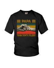 PAPA THE MAN THE MYTH THE LEGEND Youth T-Shirt thumbnail