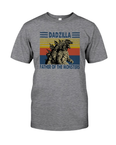 FUNNY VINTAGE DADZILLA FATHER OF THE MONSTERS