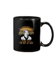 STAY TRAPPED OR GET CLAPPED SUN TZU Mug thumbnail