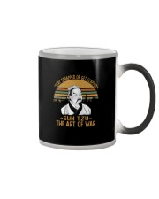 STAY TRAPPED OR GET CLAPPED SUN TZU Color Changing Mug thumbnail