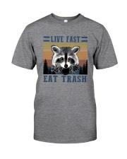 LIVE FAST EAT TRASHz Classic T-Shirt front
