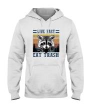 LIVE FAST EAT TRASHz Hooded Sweatshirt thumbnail