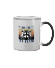 LIVE FAST EAT TRASHz Color Changing Mug thumbnail