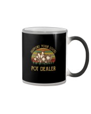 SUPPORT YOUR LOCAL POT DEALER Color Changing Mug tile