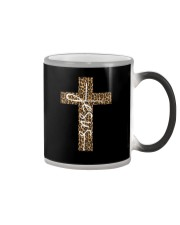 JESUS LEOPARD CROSS Color Changing Mug thumbnail