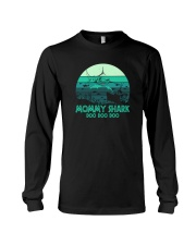 MOMMY SHARK DOO DOO DOO Long Sleeve Tee tile