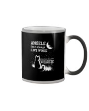 ANGELS DON'T ALWAYS HAVE WINGS  Color Changing Mug thumbnail