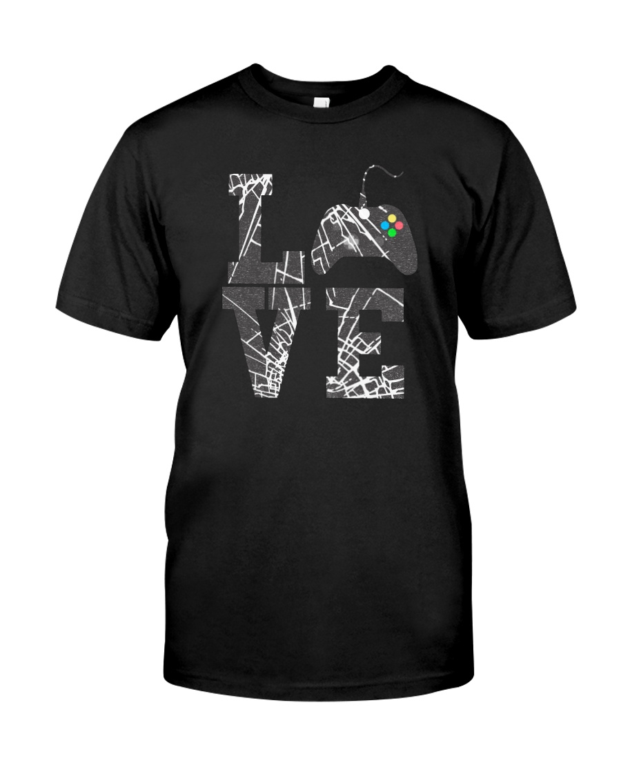 LOVE GAME CONTROLLER Classic T-Shirt